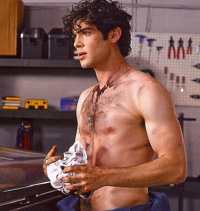 Above, sexy Ethan Peck (grandson of the late Gregory) as seen in In Touch ...