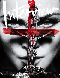 Madonna-interview-magazine-crucifix