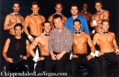 Rex Lee at Chippendales
