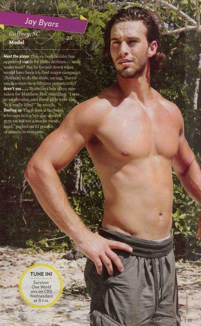 Jay byars underwear model consider