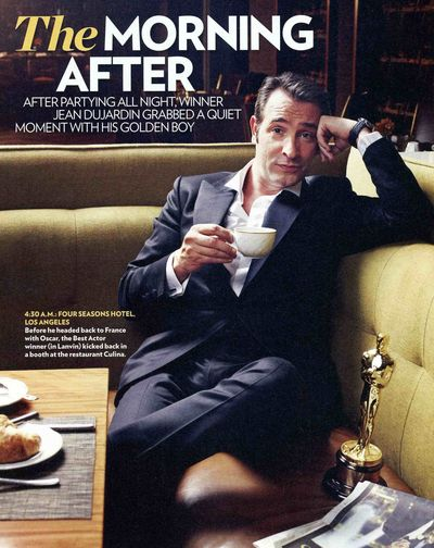 Jean Dujardin People Magazine The Artist Oscars sexy