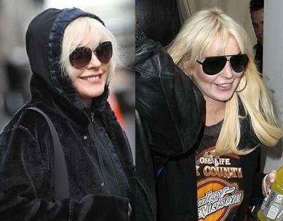 Debbie Harry Lindsay Lohan