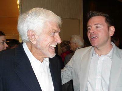 With Dick Van Dyke by Matt Moen