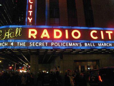 Amnesty International Secret Policeman's Ball speech