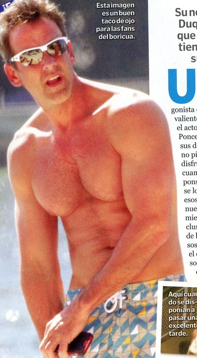 Carlos Ponce TV y Novelas shirtless