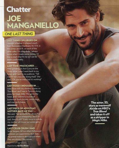 SEXY Joe Manganiello