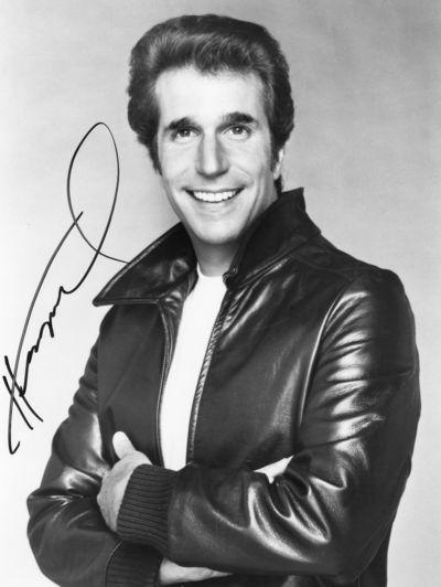 Henry Winkler autograph