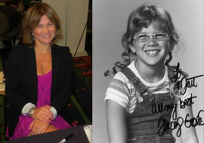 Tracey Gold then and now
