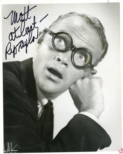 Rip Taylor vintage autograph