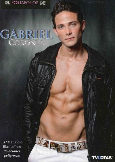 Hot shirtless gabriel coronel