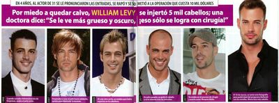 William Levy hair
