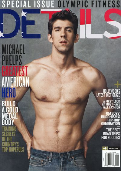 Michael Phelps Details shirtless