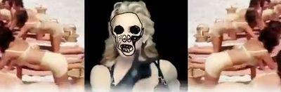Madonna Nobody Knows Me backdrop