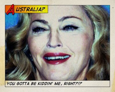 Madonna cancels MDNA world tour Australia