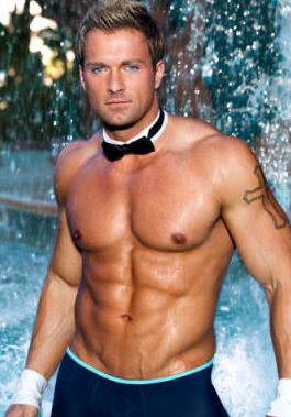 Billy Jeffrey Chippendales stripper shirtless
