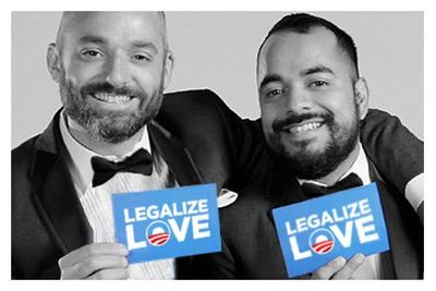 Barack Obama legalize love gay marriage equality luke sissyfag montgomery eduardo cisneros
