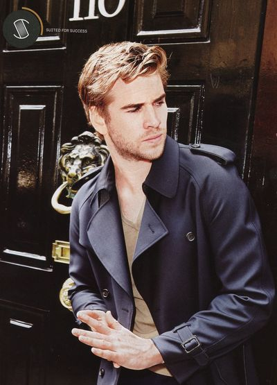 Liam Hemsworth dressed up