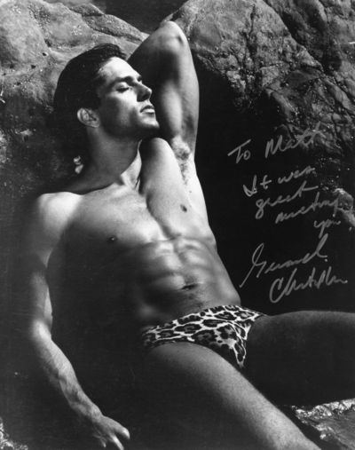 Gerard Christopher autograph