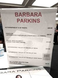 Barbara Parkins prices