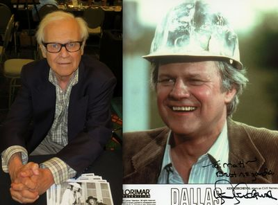 Ken Kercheval Dallas old young