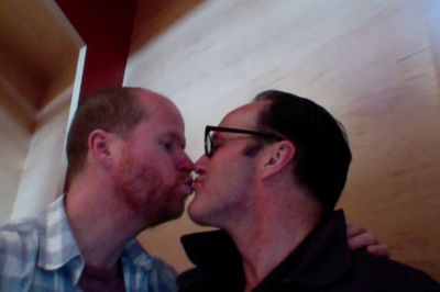 Clark Gregg Joss Whedon affair kissing