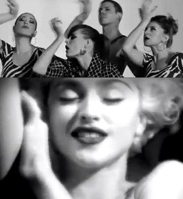 Madonna Scissor Sisters Lets Have a Kiki Captain Obvious