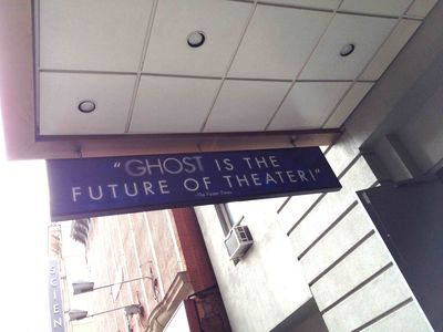 Ghost the Musical sign
