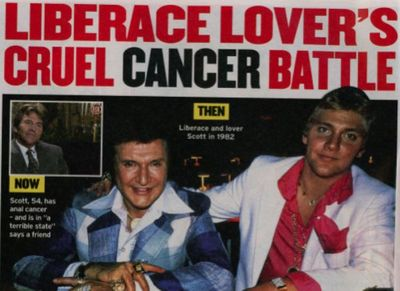 Liberace Scott Thorson anal cancer