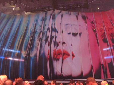 Madonna MDNA tour Matthew Rettenmund curtain