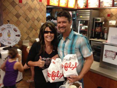 Sarah Palin Todd Chick-Fil-A