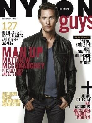 Nylon Matthew McConaughey