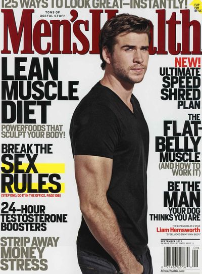 Men's Health Liam Hemsworth 2