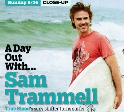 Sam Trammell TV Guide Aug 13 26 1