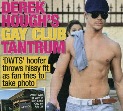 Derek Hough National Enquirer gay