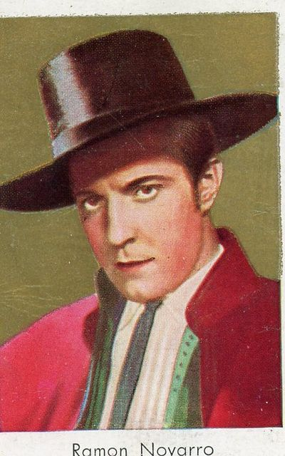 Ramon Novarro card
