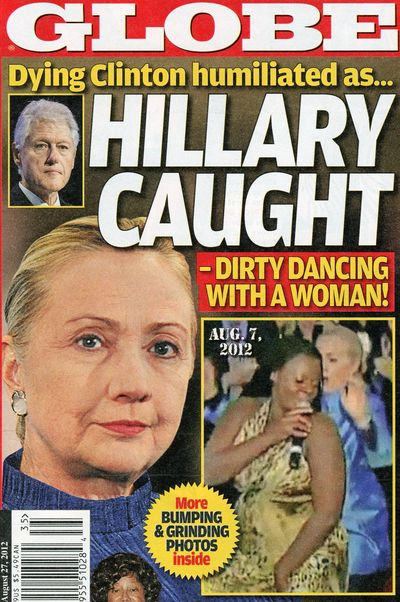 Hillary Clinton dirty dancing Bill Globe