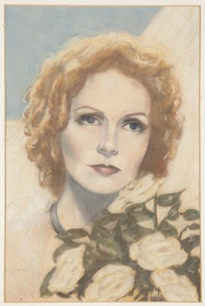 Greta Garbo auction lot105436