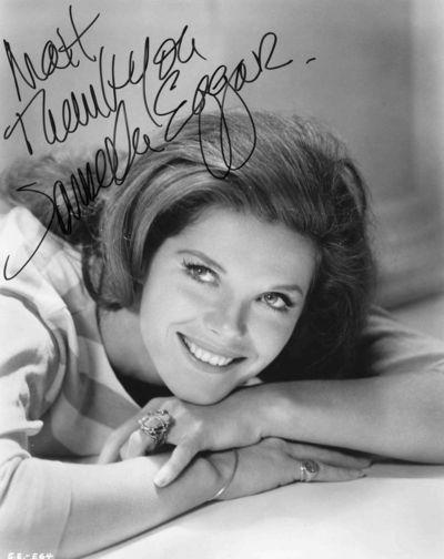 Samantha Eggar autograph