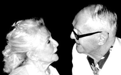 Phyllis Coates and Richard L Bare