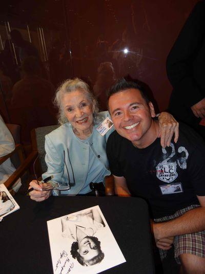 *Phyllis Coates with Matt