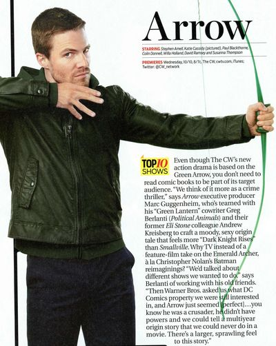 Stephen Amell TV Guide