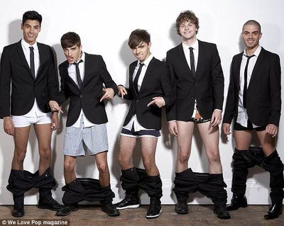 The Wanted underwear