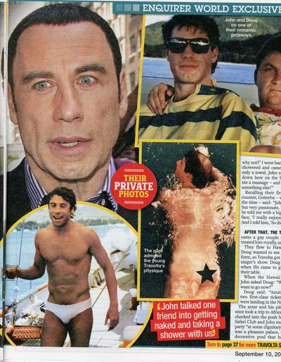 John Travolta gay lover Doug Gotterba