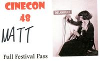 Cinecon badge