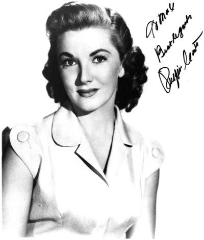 Phyllis Coates autograph