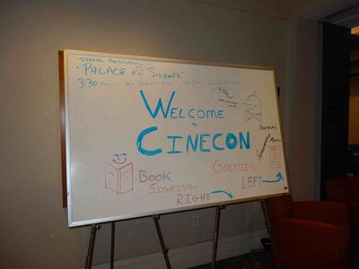 Cinecon welcome