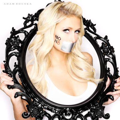 Paris Hilton NOH8
