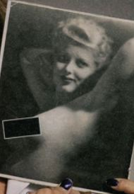 I Love Lucy Lucille Ball topless nude