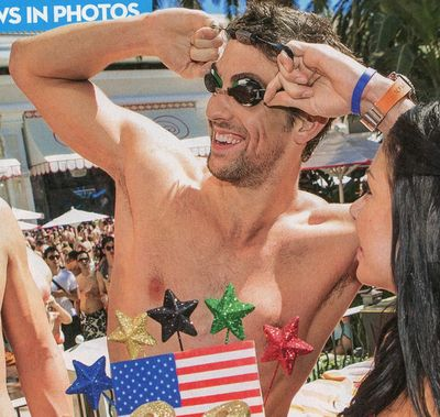 Michael Phelps OK September 24 shirtless Olympian