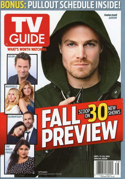Stephen Amell Arrow TV Guide